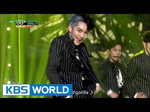 PENTAGON (펜타곤) - Gorilla [Music Bank / 2016.10.28]