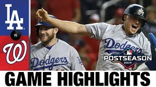 7-run 6th powers Dodgers to Game 3 win | Dodgers-Nationals NLDS Game Highlights