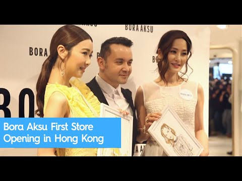 Bora Aksu First Store Opening in Hong Kong