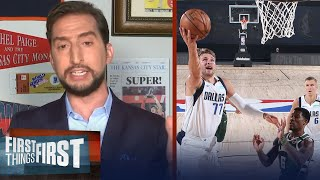 Nick talks Luka Doncic's ceiling, compares him to greats like Bird & Bryant | FIRST THINGS FIRST