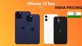 IPHONE 12 SERIES PRICE LIST| CONFIRMED - IPHONE 12 PRO PRICE IN INDIA
