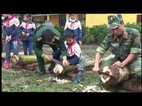 Hoat dong trai nghiem   Tieu hoc Dong Tien   Yen The   Bac Giang 2015