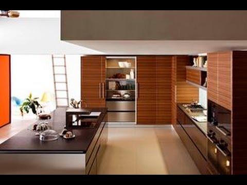 Revestimientos para cocinas modernas for Casa moderna minimalista interior 6m x 12 50m
