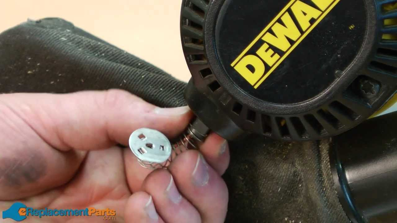 How To Replace The Brush Holders In A Dewalt Dw708 Miter