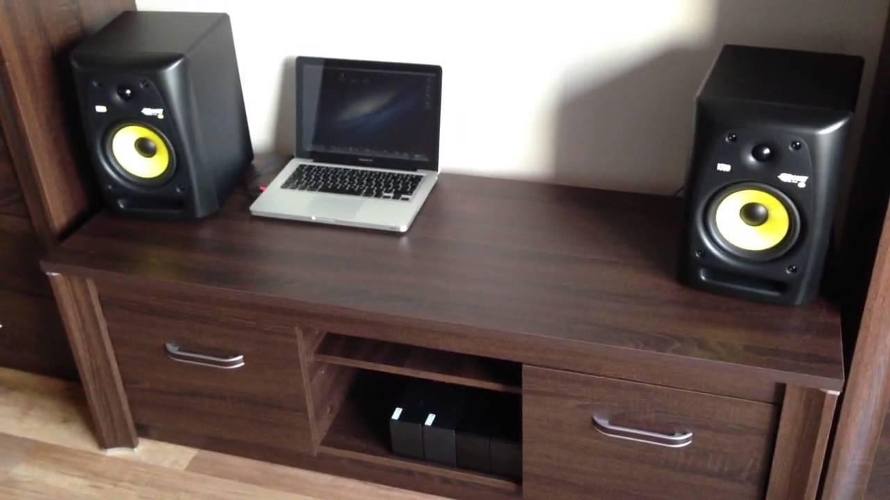 krk rp6 g2 sound test youtube. Black Bedroom Furniture Sets. Home Design Ideas