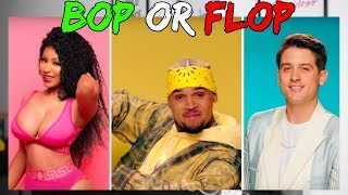 "CHRIS BROWN & NICKI MINAJ W/ G-EAZY ""WOBBLE UP"" BOP OR FLOP!?"