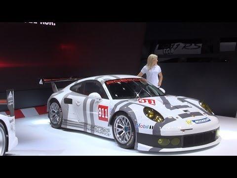 Porsche 911 RSR (type 991) Exterior in 3D 4K UHD