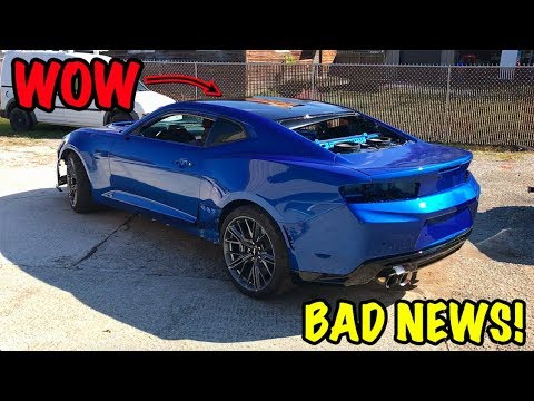 Rebuilding A Wrecked 2018 Camaro ZL1 Part 15