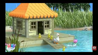 Five little Ducks went swimming one day - Nursery Rhymes