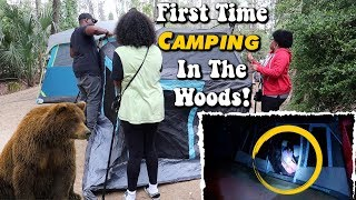 First Time Camping In The Woods   Fort Wilderness
