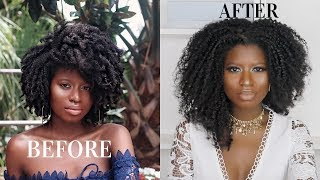 I FOUND A WAY TO BEAT SHRINKAGE ON MY TYPE 4 KINKY NATURAL HAIR