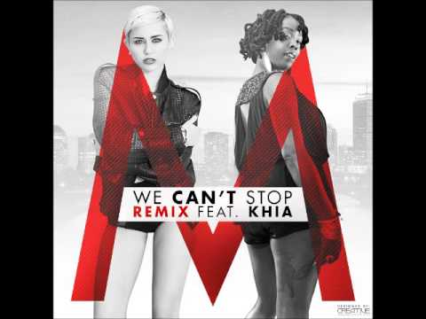 Baixar Miley Cyrus feat. Khia - We Can't Stop (Official Remix)