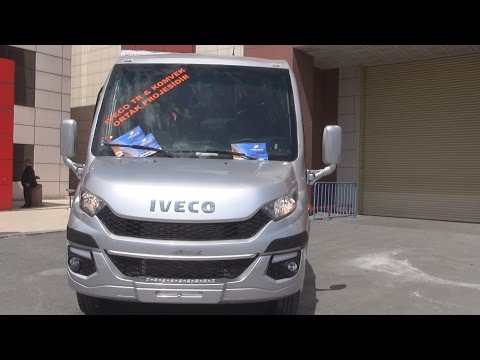 Iveco Daily Ferqui Bus (2016) Exterior and Interior in 3D