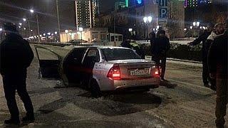 Перестрелка в центре Грозного