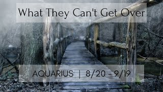 AQUARIUS: What they can't get over 8/20 - 9/19