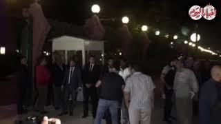أخبار اليوم | أحمد السقا يصل عزاء هيثم أحمد زكي -