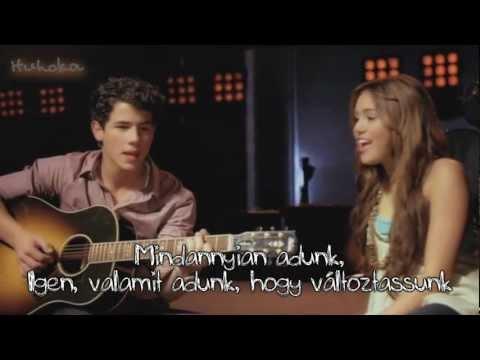 Baixar Miley Cyrus, Demi Lovato, Jonas Brothers, Selena Gomez - Send it on (magyar) [720p]