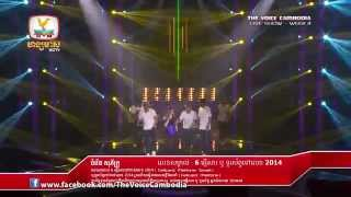 The Voice Cambodia - Live Show 4 - Dont Walk Away -  02 Nov 2014
