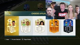 LUCKIEST YOUTUBERS FUT DRAFT!!! - FIFA 16