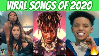 Rap Songs That Went Viral in 2020! (Most Popular Hits)