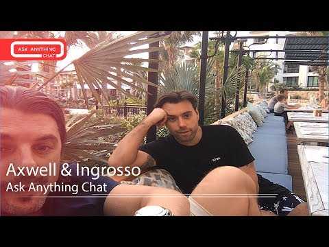 Axwell^Ingrosso MRL Ask Anything Chat w/ Romeo ‌‌(Full Version)