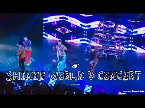샤이니 SHINee World V in LA FULL CONCERT 2017 March 26th ♡