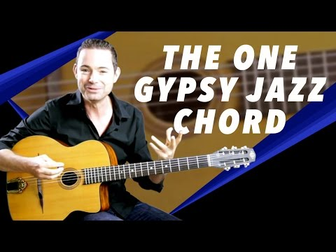 The Most Useful Gypsy Jazz Chord Voicing Ever!