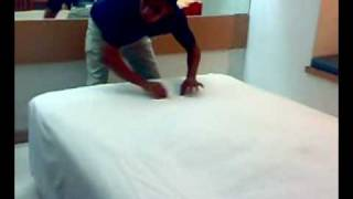 Bed Making Tutorial (Fastest Way)
