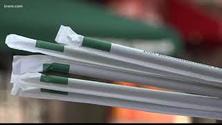 Starbucks ditches plastic straws
