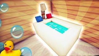 Làm Bồn Tắm Cho Baby Trong Minecraft