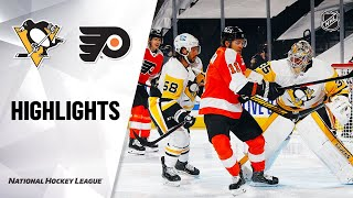 Penguins @ Flyers 1/13/21 | NHL Highlights