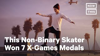 Leo Baker Becomes First Non-Binary Skater Featured In Tony Hawk Video Game | NowThis