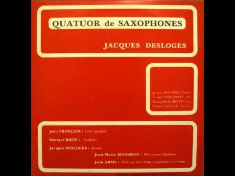 Suite sur des thèmes populaires roumains, op. 90 - V - Rude et bien rythmé (Jean Absil)