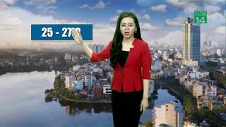 Thời tiết cuối ngày 13/11/2018: Nhiệt độ các vùng miền đều tăng trong 3 ngày tới | VTC14