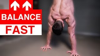 10 Exercises to Improve Handstand FAST