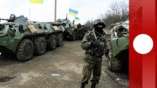 Ukrainian troops begin 'anti-terror operation' in eastern city Kramatorsk