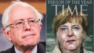 Angela Merkel Named TIME's Person of the Year, Bernie Sanders Snubbed