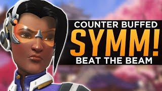 Overwatch: How To Counter BUFFED Symmetra! - Beat The Beam!