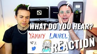 """Do You Hear """"YANNY"""" or """"LAUREL""""? (SOLVED with SCIENCE)   REACTION"""