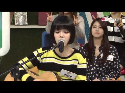 AOA Jimin Singing Dixie Chicks Long Time Gone on After School Club Ep39