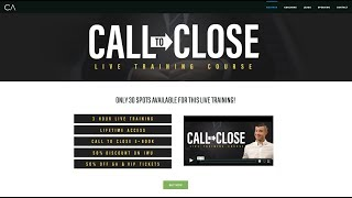 [LIVE TRAINING] 3-Hour Deep Dive into CALLING & CLOSING Leads!
