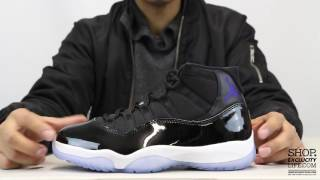 "Air Jordan 11 Retro ""Space Jam"" Unboxing Video at Exclucity"