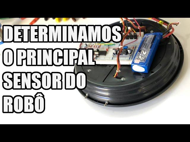 DETERMINAMOS O PRINCIPAL SENSOR DO ROBÔ | Usina Robots US-3 #025