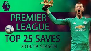 Top 25 saves of 2018-19 Premier League season | NBC Sports