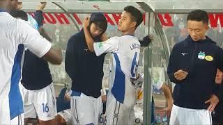 Đau xót khi Tuấn Anh gặp chấn thương trong trận đấu với Hải Phòng tại V   League 2018