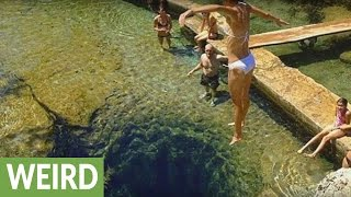 This swimming hole contains mysterious and dangerous secret