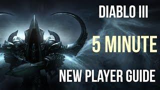 Diablo III Complete Noob's Guide in 5 Minutes!!