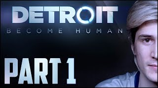 xQc PLAYS DETROIT: BECOME HUMAN w/ CHAT [1/2]