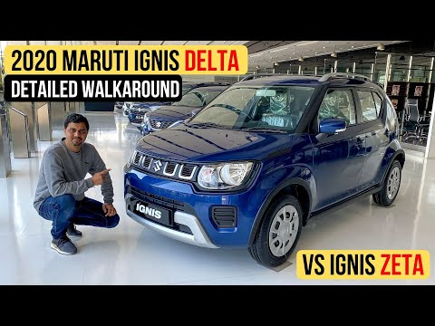 2020 Maruti Ignis Facelift Delta (Mid-Variant) Walkaround