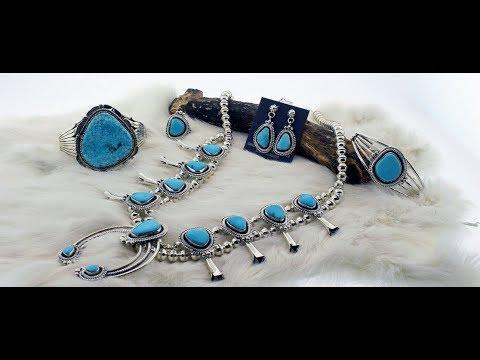 Native American Jewelry   Indian Jewelry   Silver and Turquoise Native American Jewelers